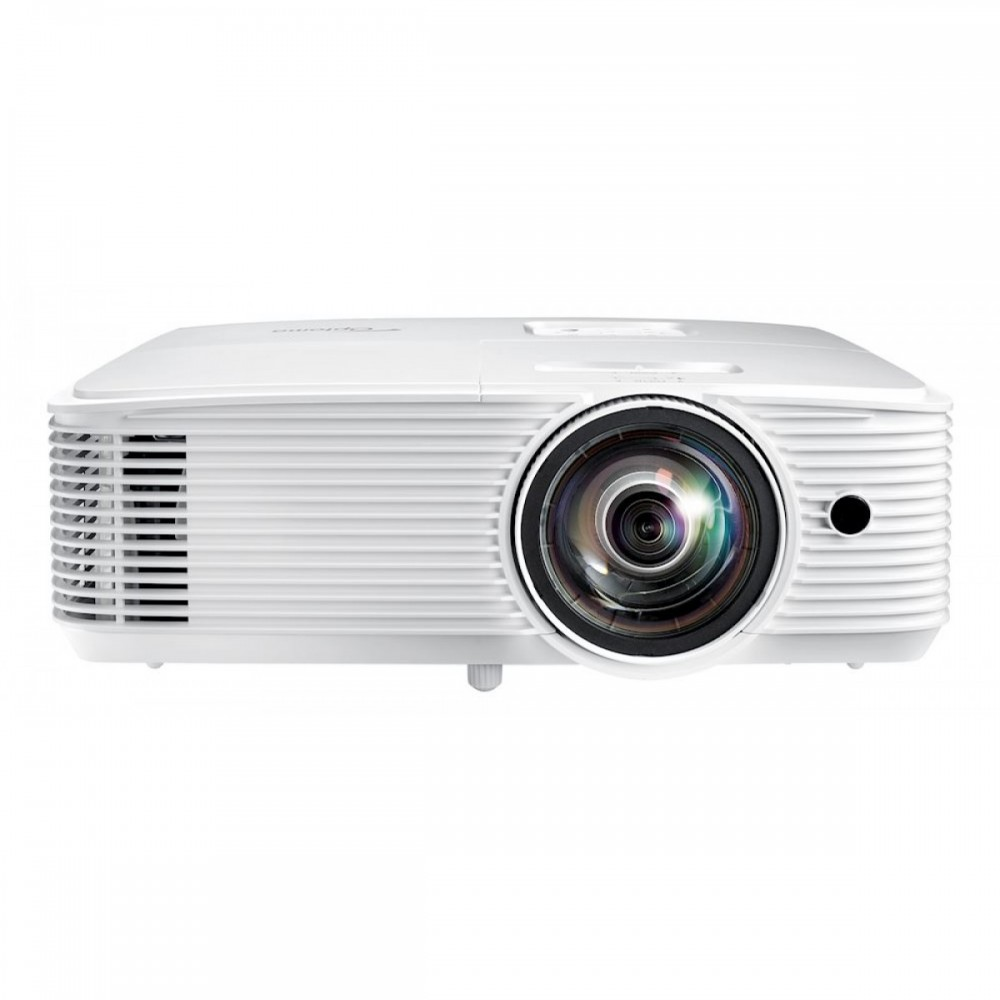 OPTOMA PROJECTOR W318STE DLP 3800 LUMENS & 3D SUPPORT WHITE