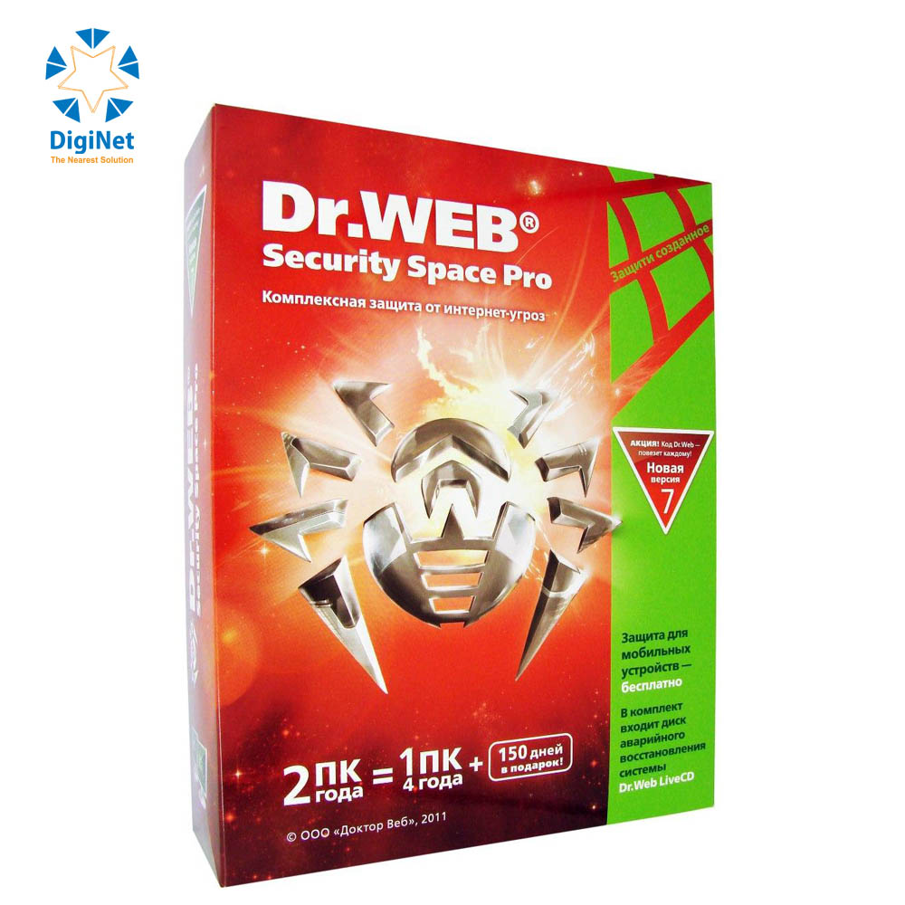 DR.WEB SECURITY 1PC 1MOB BOX