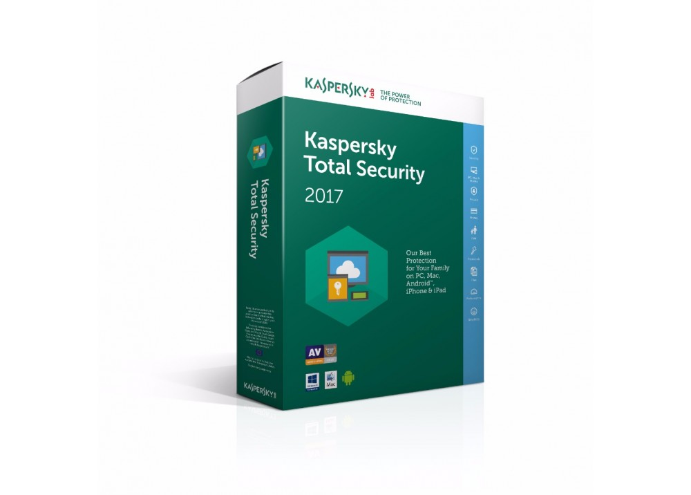 KASPERSKY  TOTAL  SECURITY 1 USER MULTI DEVICE