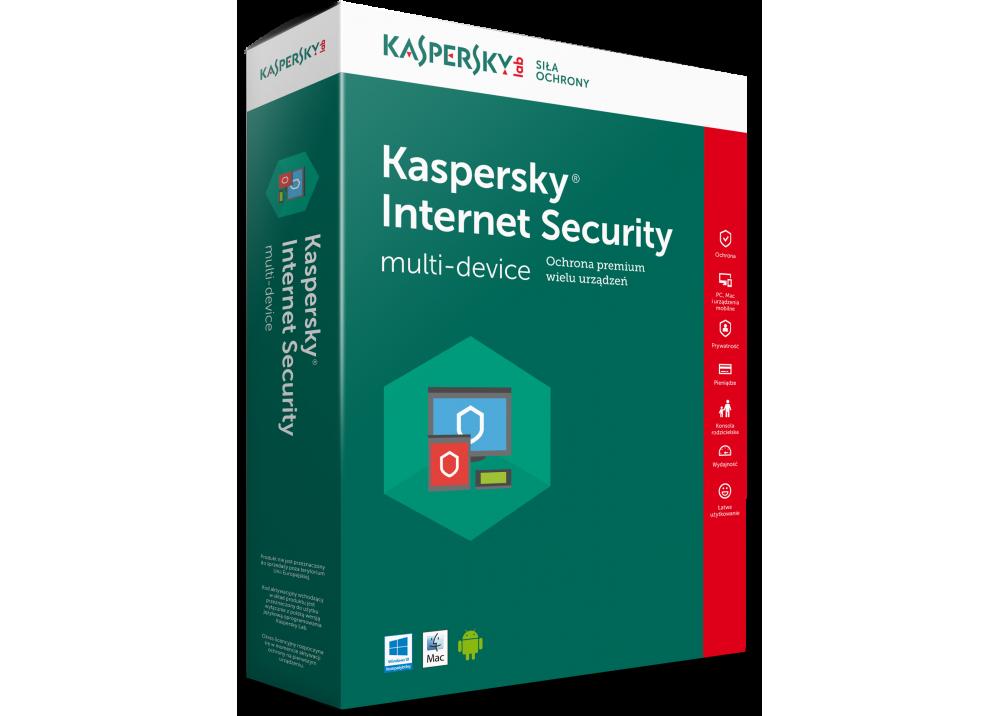 KASPERSKY INTERNET SECURITY 2 USER BOX