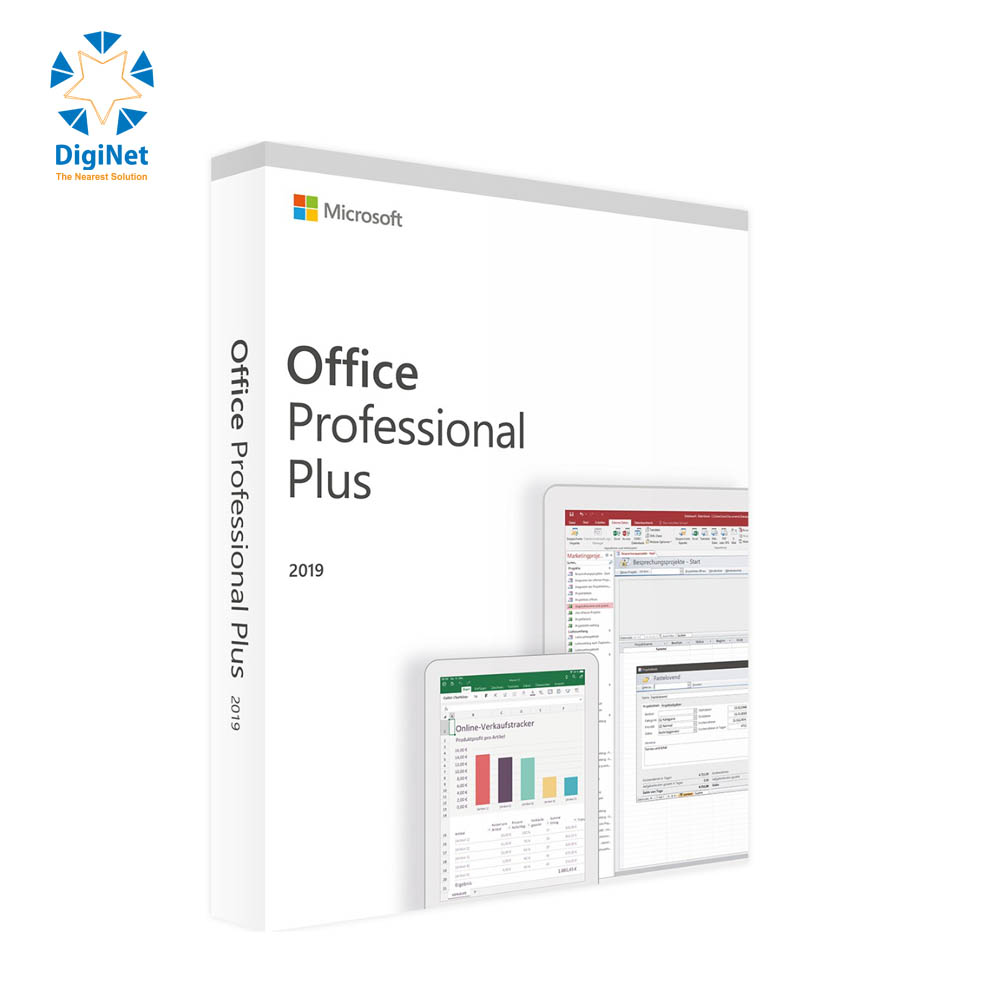 MICROSOTF OFFICE 2019 PRO PLUS FULL PACKING