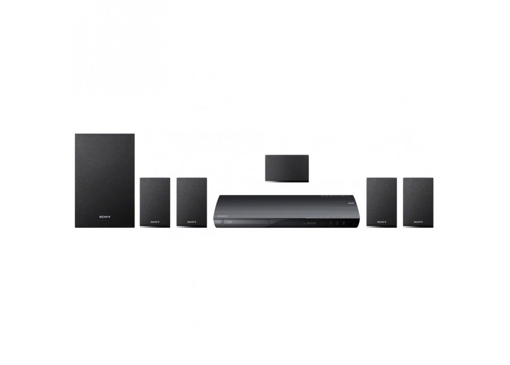 SONY HOME THEATER SYSTEM BDV-E190 BLU-RAY 3D 5.1 300W WIFI BLACK