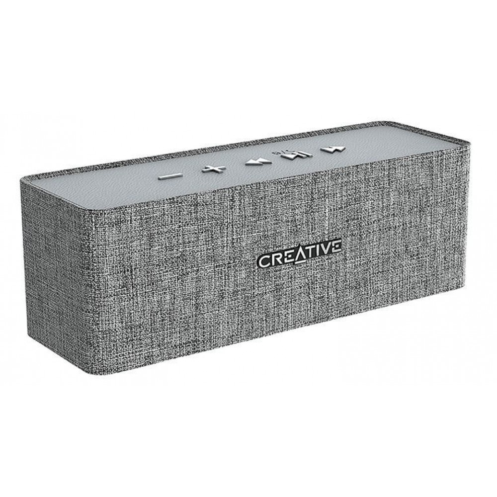 CREATIVE PORTABLE BLUETOOTH SPEAKER NUNO 1050MAH GRAY
