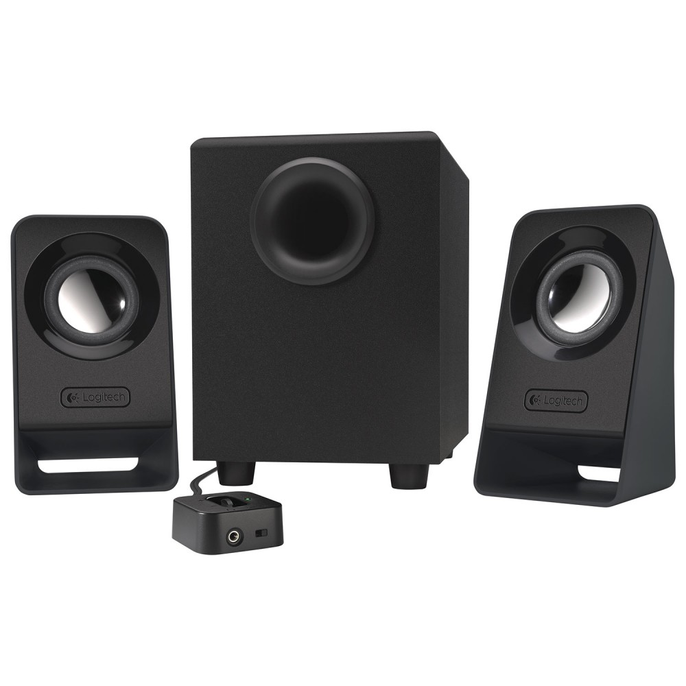 LOGITECH MULTIMEDIA SPEAKERS 2.1 Z213 BLACK