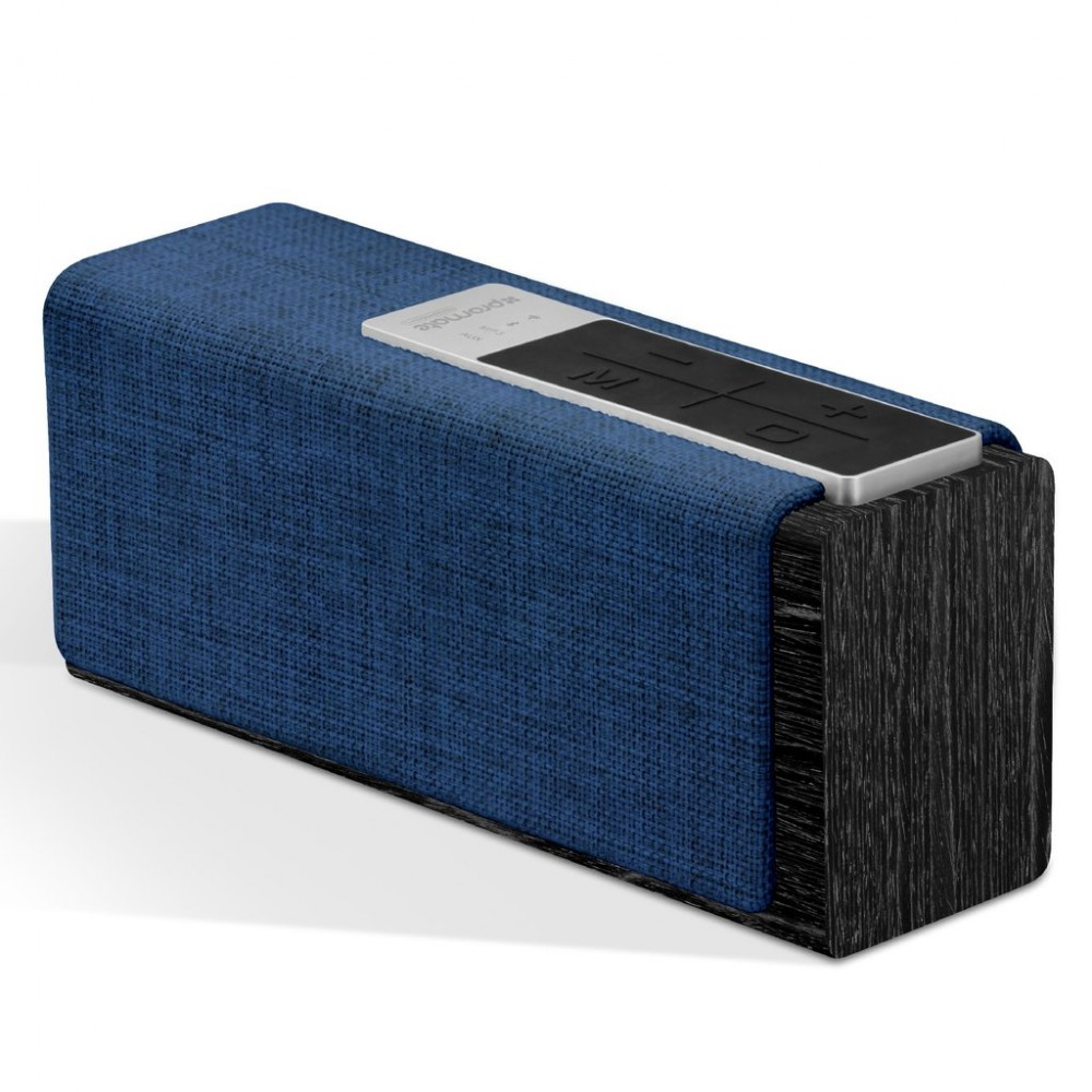 PROMATE BLUETOOTH AND WIRELESS SPEAKER STREAMBOX BLACK BLUE