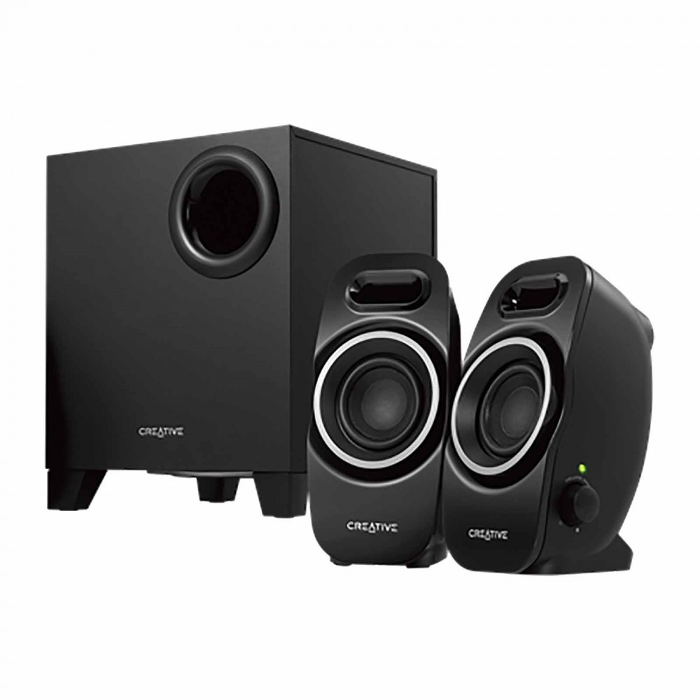 CREATIVE SUBWOOFER A250 2.1 BLACK
