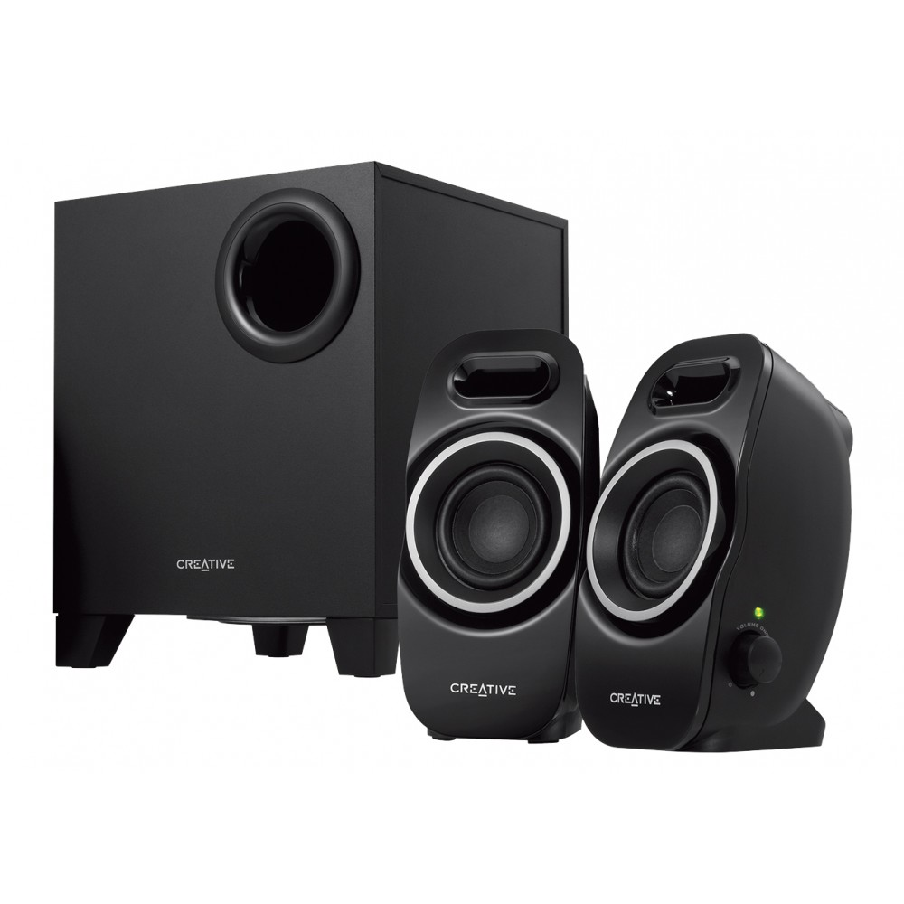 CREATIVE SUBWOOFER A350 2.1 BLACK