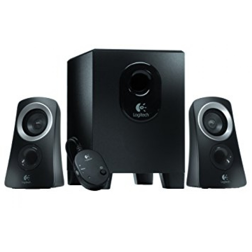 LOGITECH MULTIMEDIA SPEAKERS Z313 2.1 BLACK