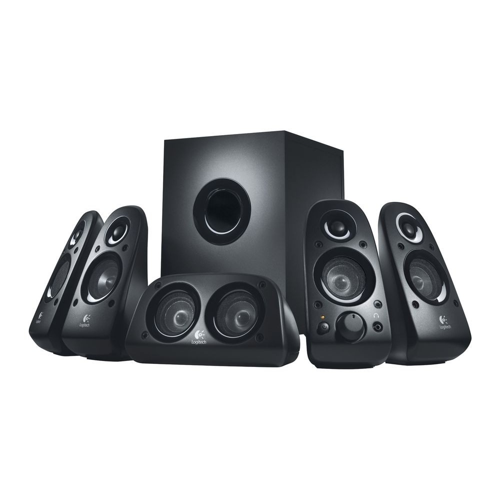 LOGITECH SURROUND SOUND SYSTEM Z506 5.1 BLACK