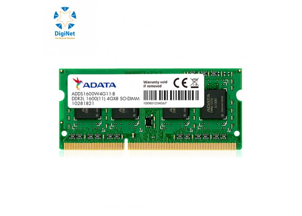 ADATA RAM FOR LAPTOP 8GB DDR3L 1600MHz
