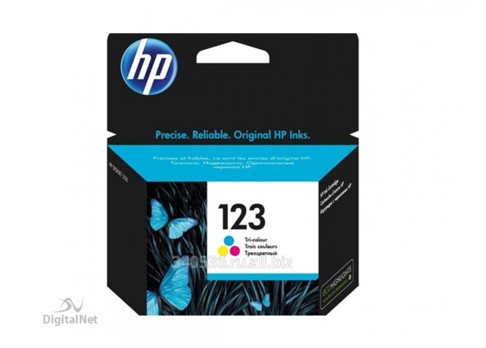 HP 123 COLOR ORIGINAL INK CARTRIDGE
