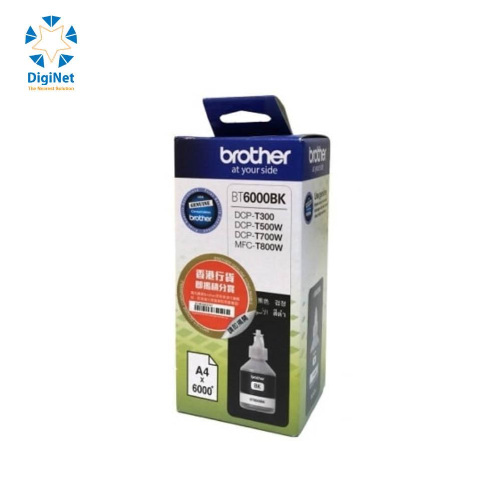 BROTHER ORIGINAL INK CARTRIDGE BT-6000 BLACK (BT6000BK)