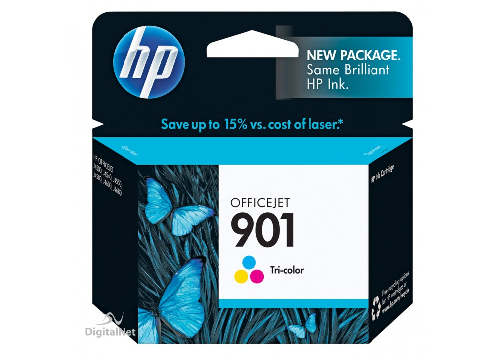 HP 901 COLOR ORIGINAL INK CARTRIDGE