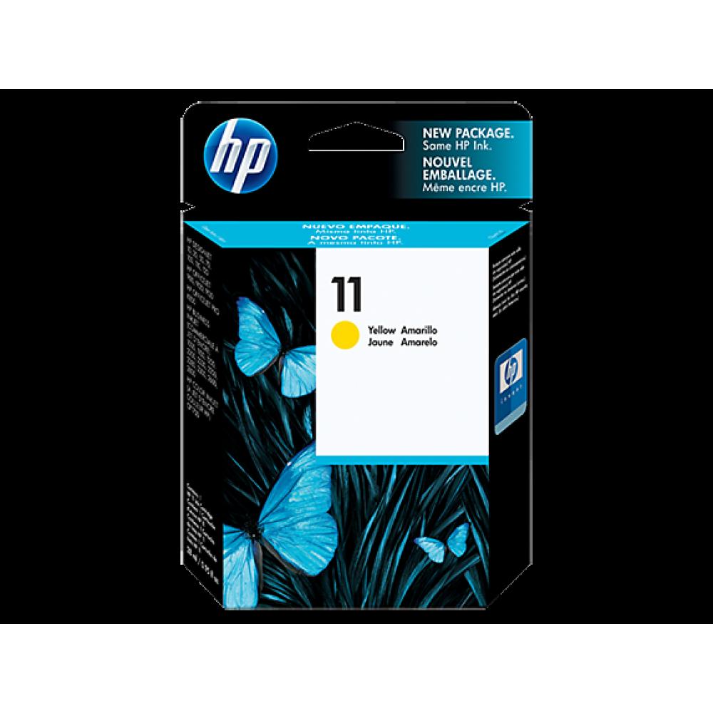 HP 11 YALLOW ORIGINAL INK CARTRIDGE