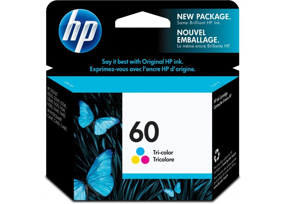 HP 60 COLOR ORIGINAL INK CARTRIDGE