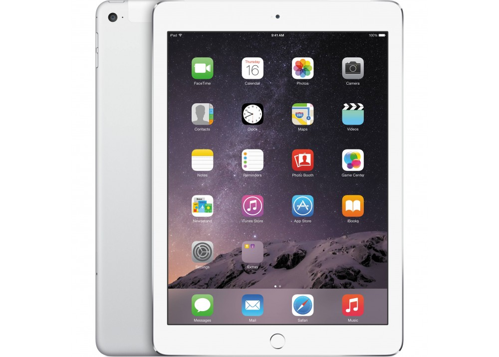 "APPLE iPAD AIR 2 128GB 4G 9.7"" SILVER"