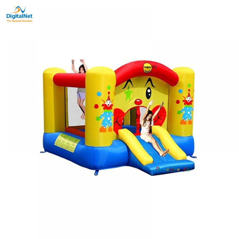 HAPPY HOP JUMPING CASTLE WITH SUN COVER
