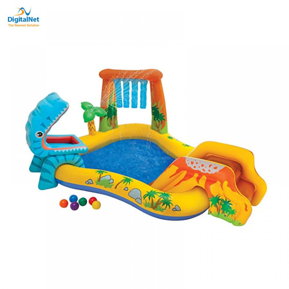 INTEX DINOSAUR PLAY CENTER