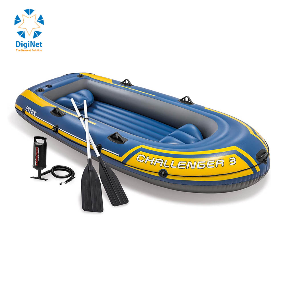 INTEX CHALLENGER 2 INFLATABLE BOAT FOR TOW PEOPLE 114*236*41 CM