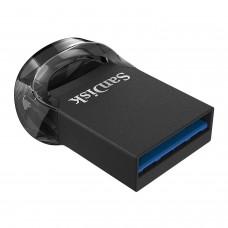 سانديسك فلاشة  FIT 128GB ULTRA FIT USB 3.1 أسود