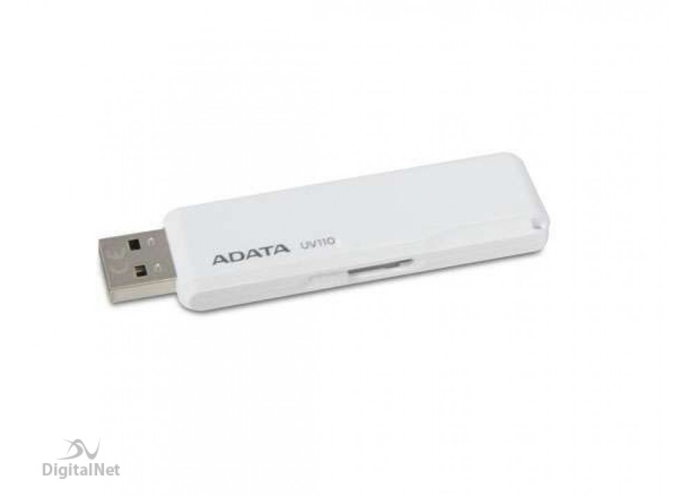A-DATA FLASH MEMORY UV110 32GB USB 2.0 WHITE