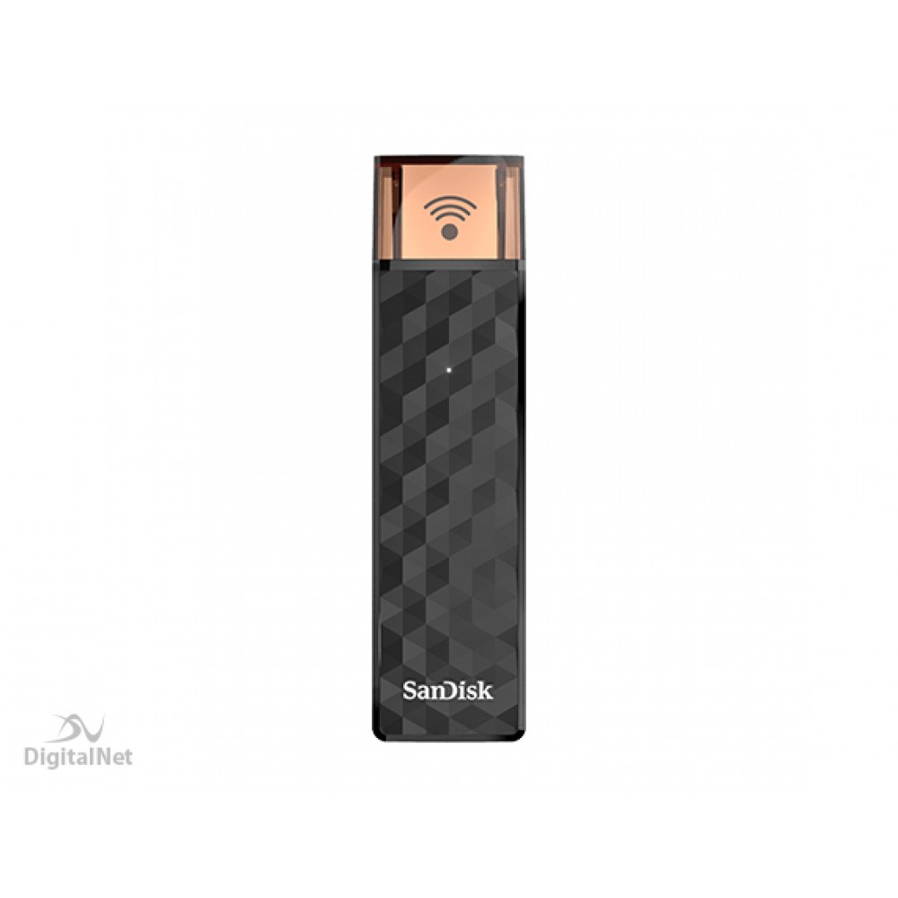 SANDISK FLASH DRIVE CONNECT WIRELESS STICK 128GB BLACK