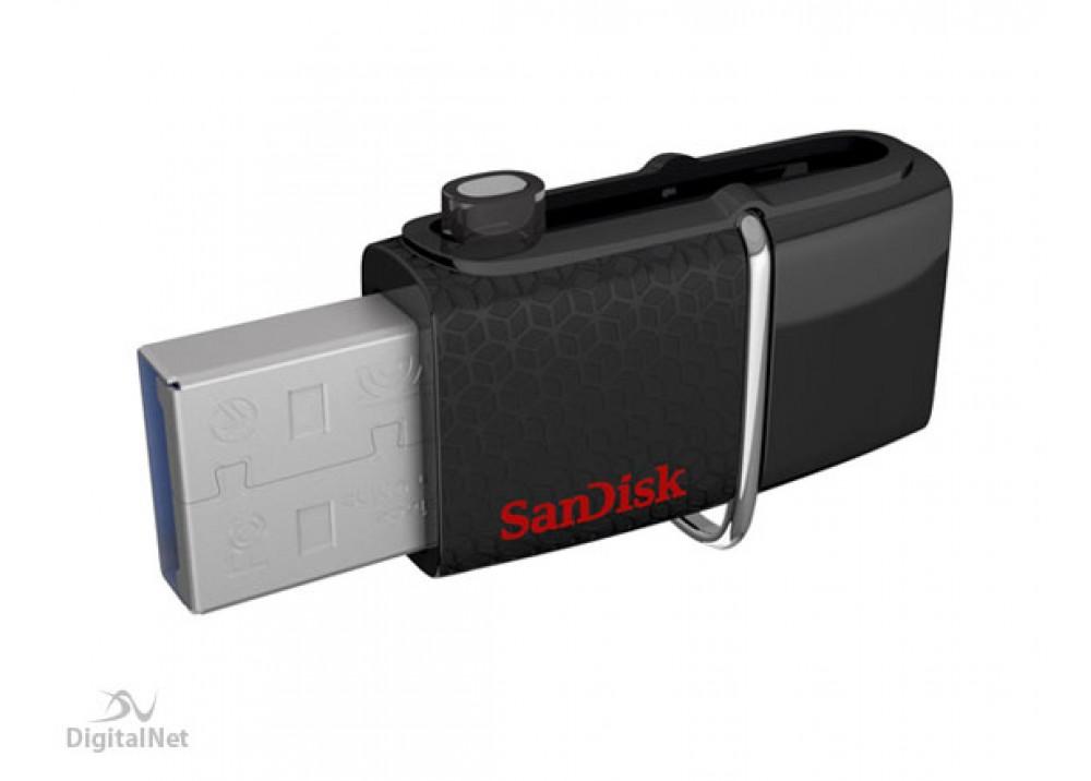 SANDISK FLASH MEMORY ULTRA DUAL SDDD2 OTG 32GB USB 3.0 BLACK