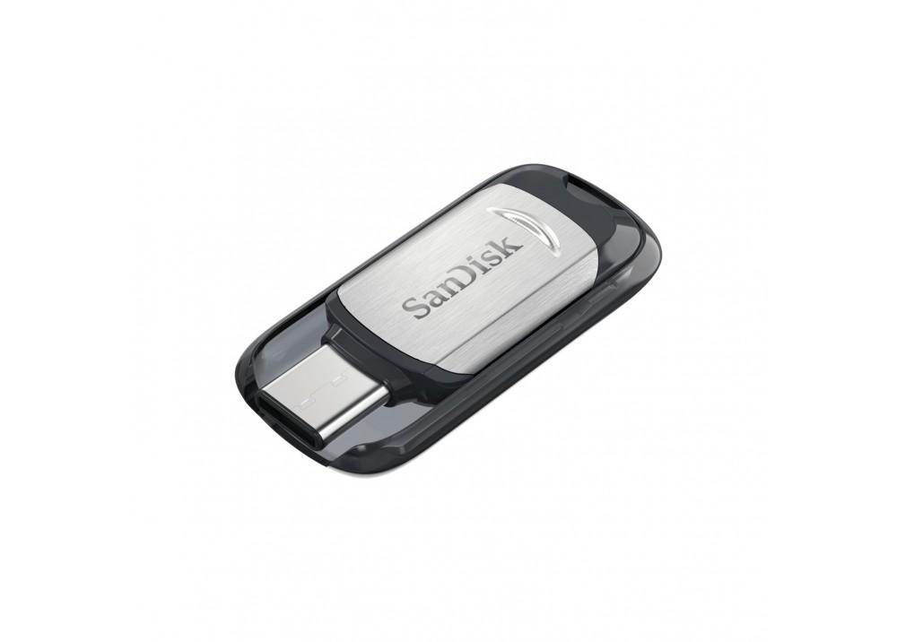 SANDISK FLASH MEMORY ULTRA USB TYPE-C USB 3.1 64GB 150 MB/s BLACK