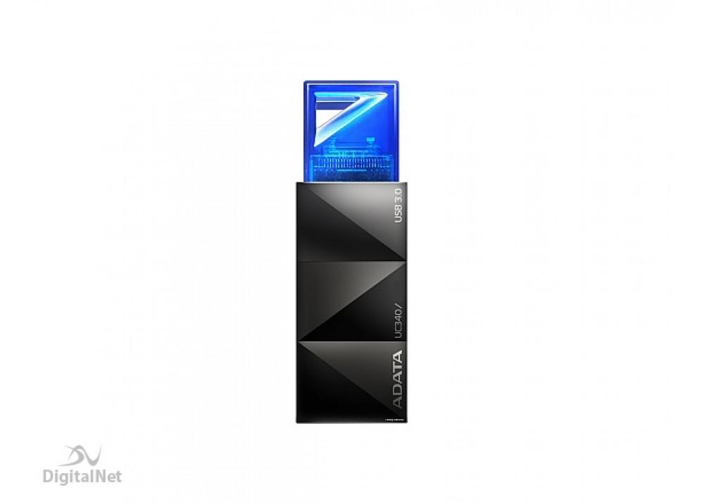 A-DATA FLASH MEMORY UC340 PUSH 16GB USB 3.0 BLUE