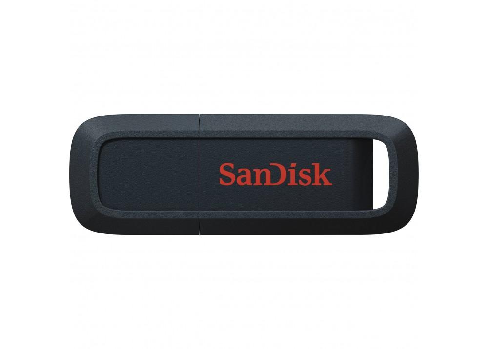 SANDISK FLASH DRIVE TREK 128GB USB 3.0 BLACK