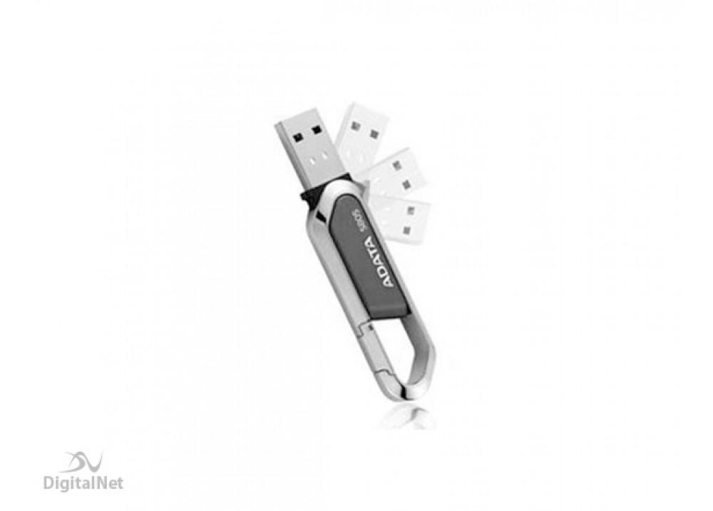 A-DATA FLASH MEMORY S805 SPORTY 8GB USB 2.0 GRAY