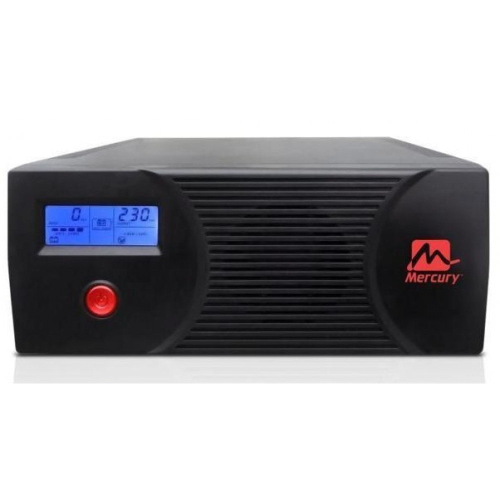 MERCURY MODIFIED SINE WAVE INVERTER WITH LCD DISPLAY AND BUILT-IN CHARGER 1200VA 720W