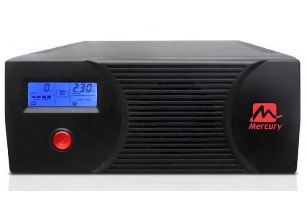 MERCURY MODIFIED SINE WAVE INVERTER WITH LCD DISPLAY AND BUILT-IN CHARGER 2400VA 1440W
