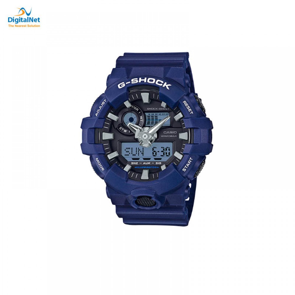 CASIO HAND WATCH G-SHOCK GA-700-2AD DARK BLUE