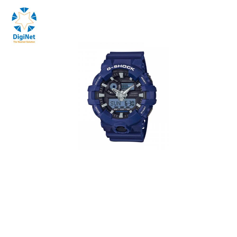 CASIO HAND WATCH G-SHOCK GA-700-2AD DARK BLUE