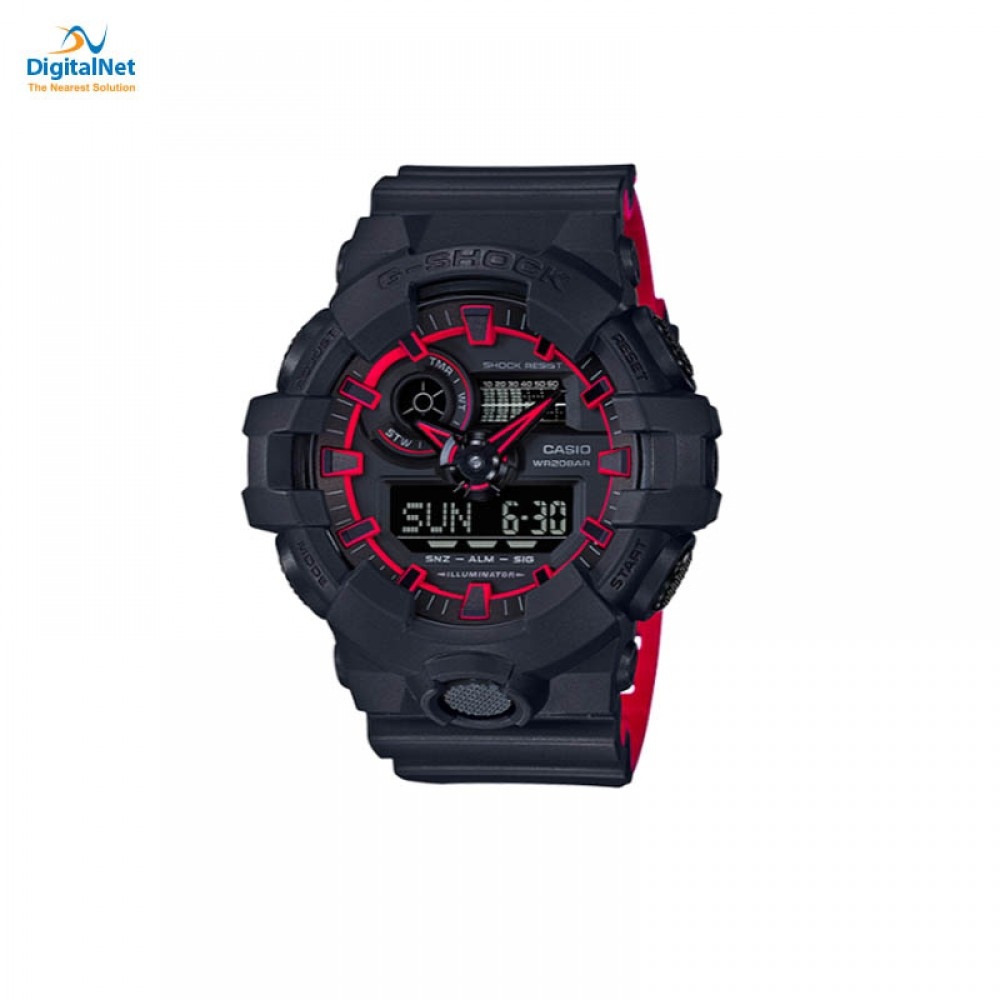 CASIO HAND WATCH G-SHOCK GA-700SE-1A4 BLACK