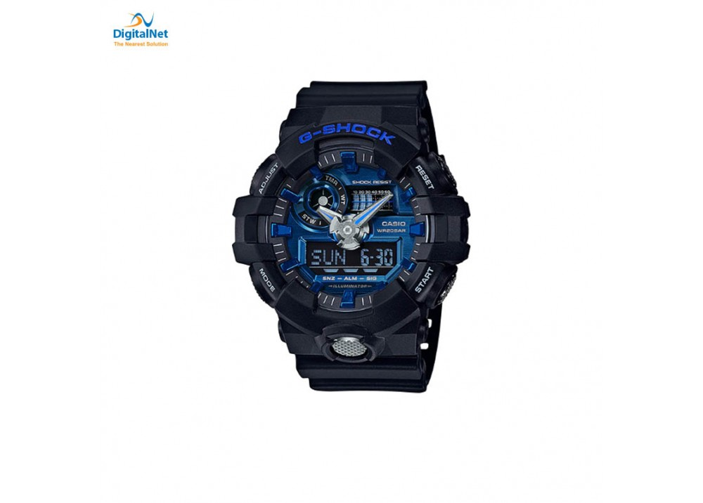 CASIO HAND WATCH G-SHOCK GA-710-1A2 BLACK