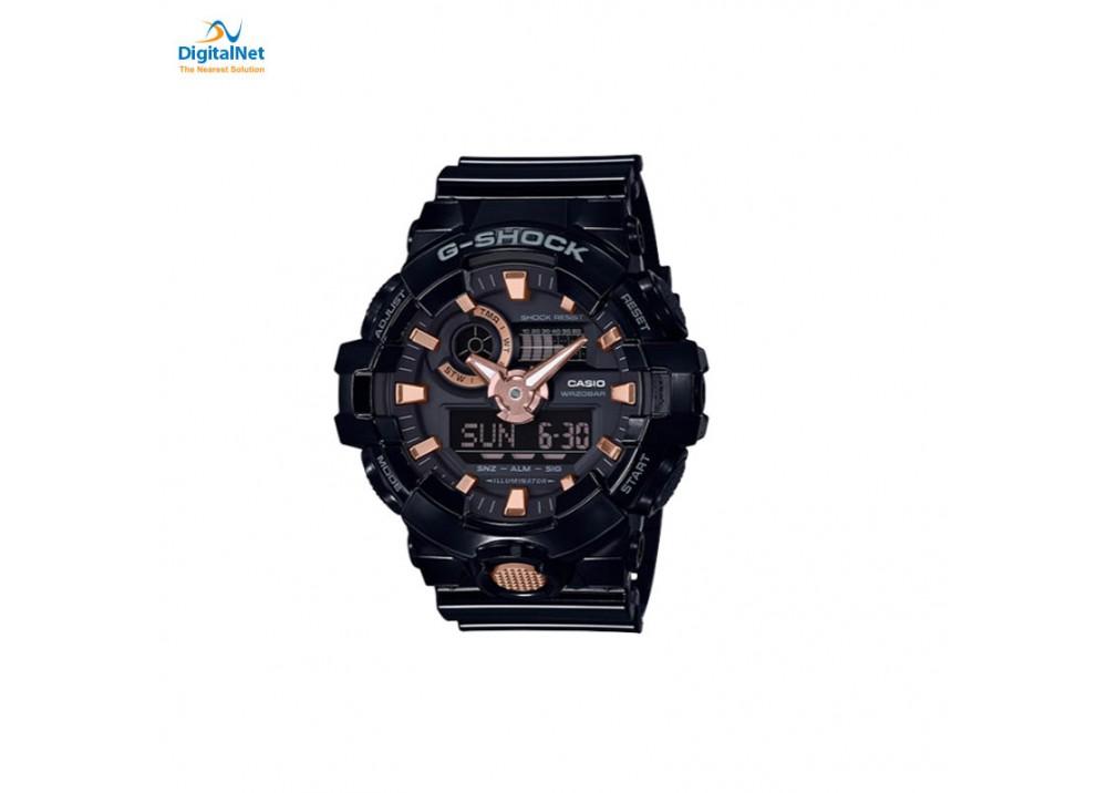 CASIO HAND WATCH G-SHOCK GA-710B-1A4-G BLACK