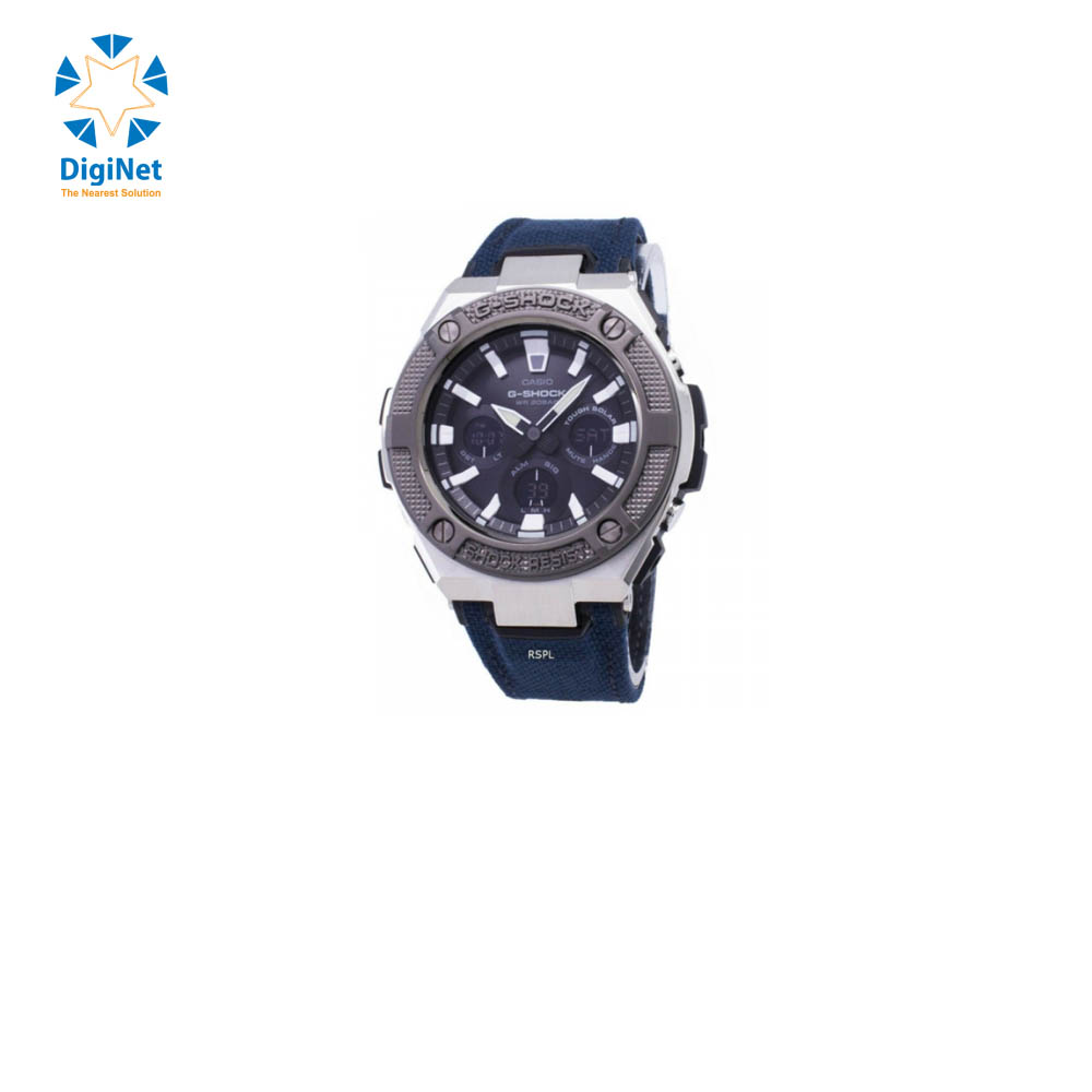 CASIO HAND WATCH CLOTH BAND GST-S330AC-2AD DARK BLUE