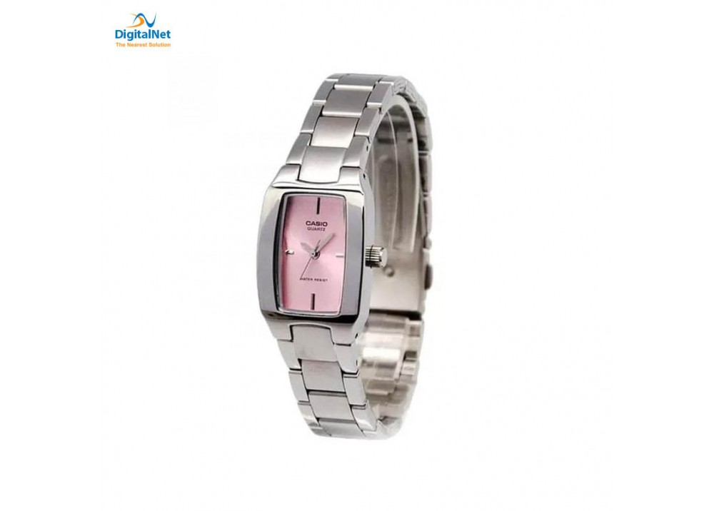 CASIO HAND WATCH STAINLESS STEEL BAND LTP-1165A-4CD