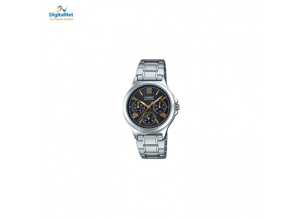 CASIO HAND WATCH STAINLESS STEEL LTP-V300D-1A2
