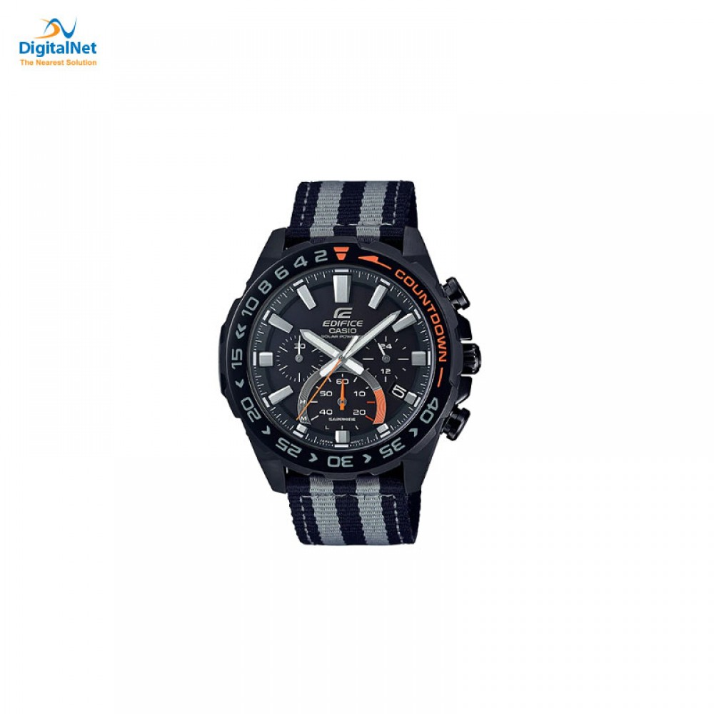 CASIO HAND WATCH CLOTH BAND EFS-S550BL-1AV BLACK