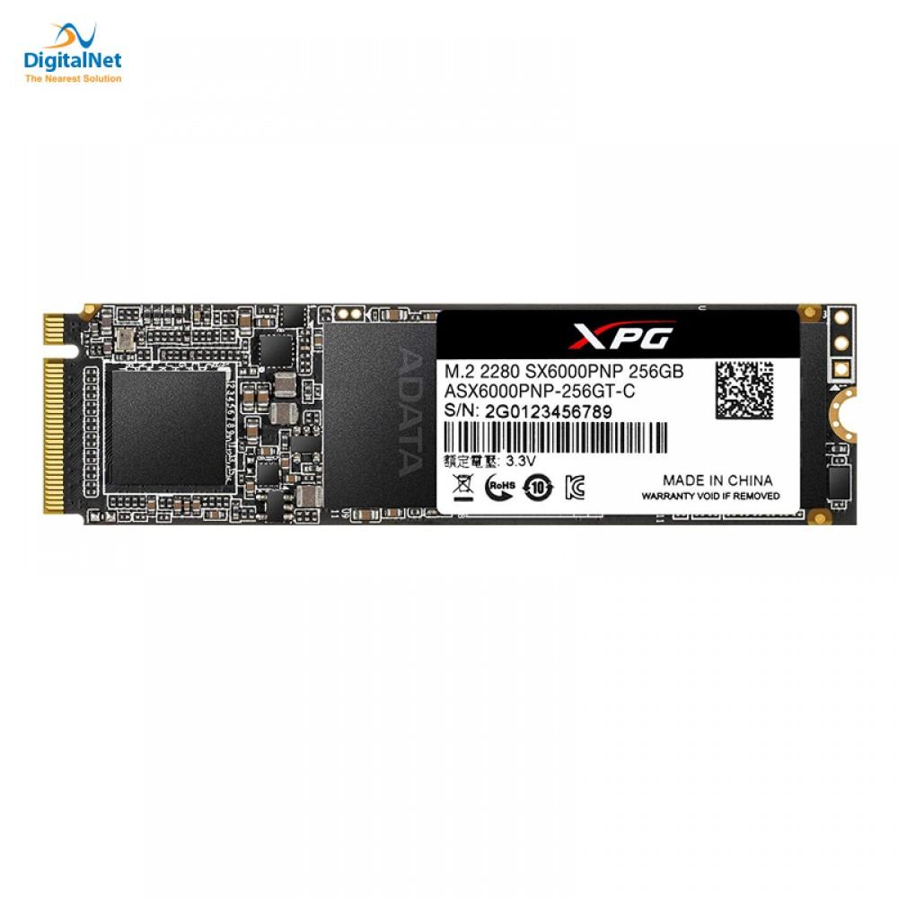 ADATA INTERNAL SOLID STATE DRIVE SSD XPG SX6000 PRO  M.2 NVME 256 GB