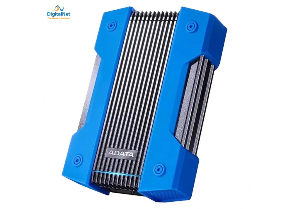 ADATA EXTERNAL HARD DRIVE HD830 ANT-SHOCK 2 TB BLUE