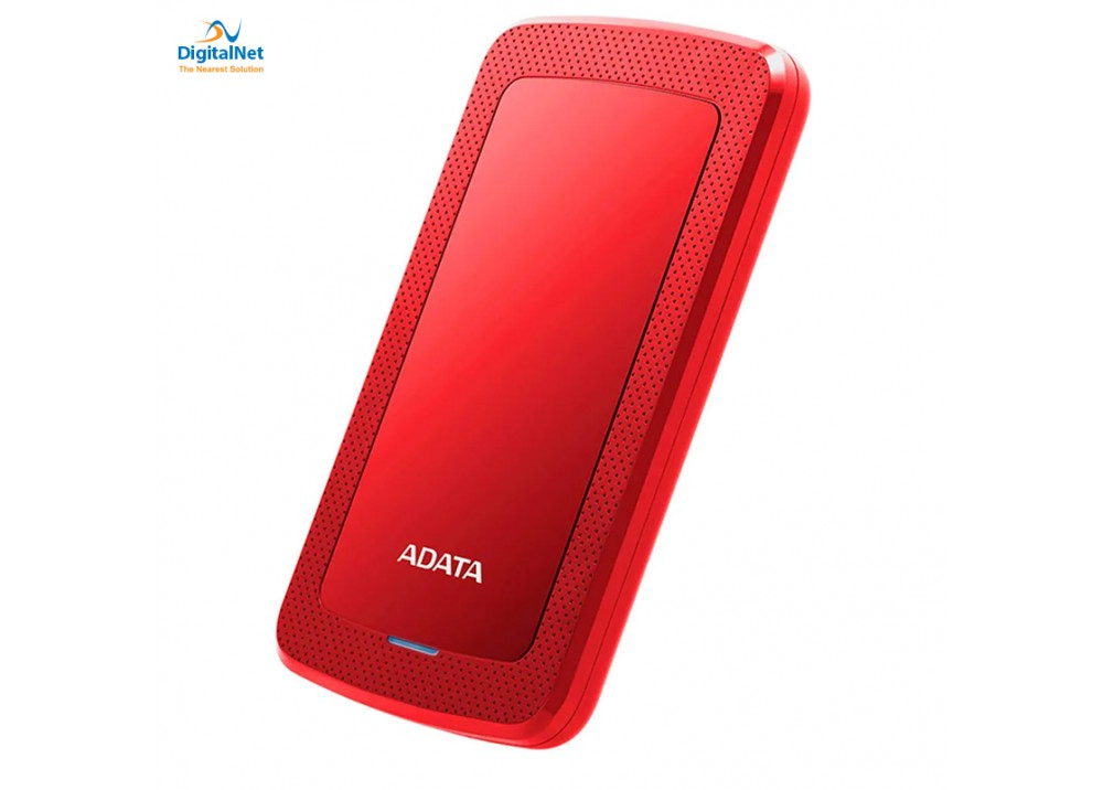 ADATA EXTERNAL HARD DRIVE HV300 SLIM 2TB RED