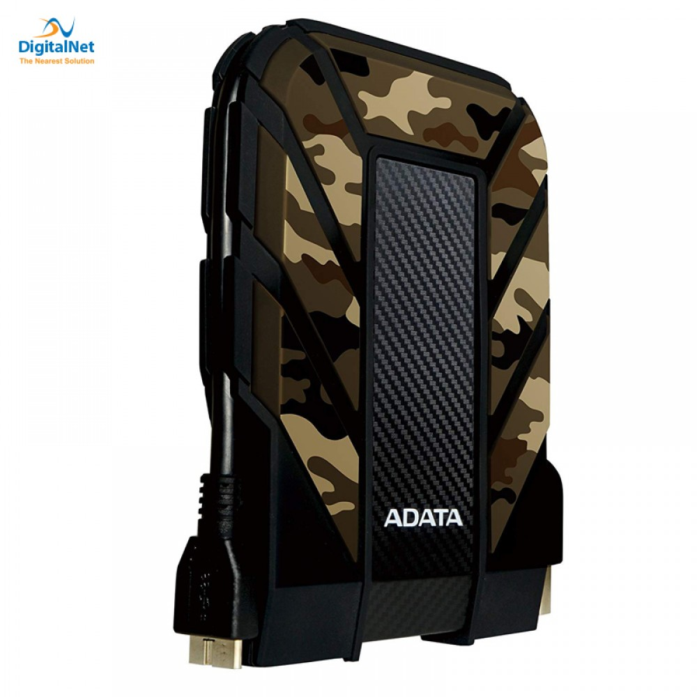 ADATA EXTERNAL HARD DRIVE HD710M PRO 2TB ANTI SHOCK CAMOUFLAGE