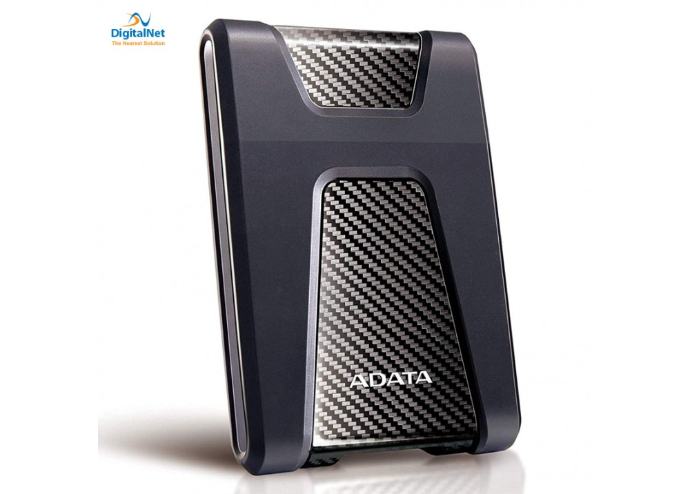 ADATA EXTERNAL HARD DRIVE HD650 USB 3.1 2 TB ANTI-SHOCK BLACK