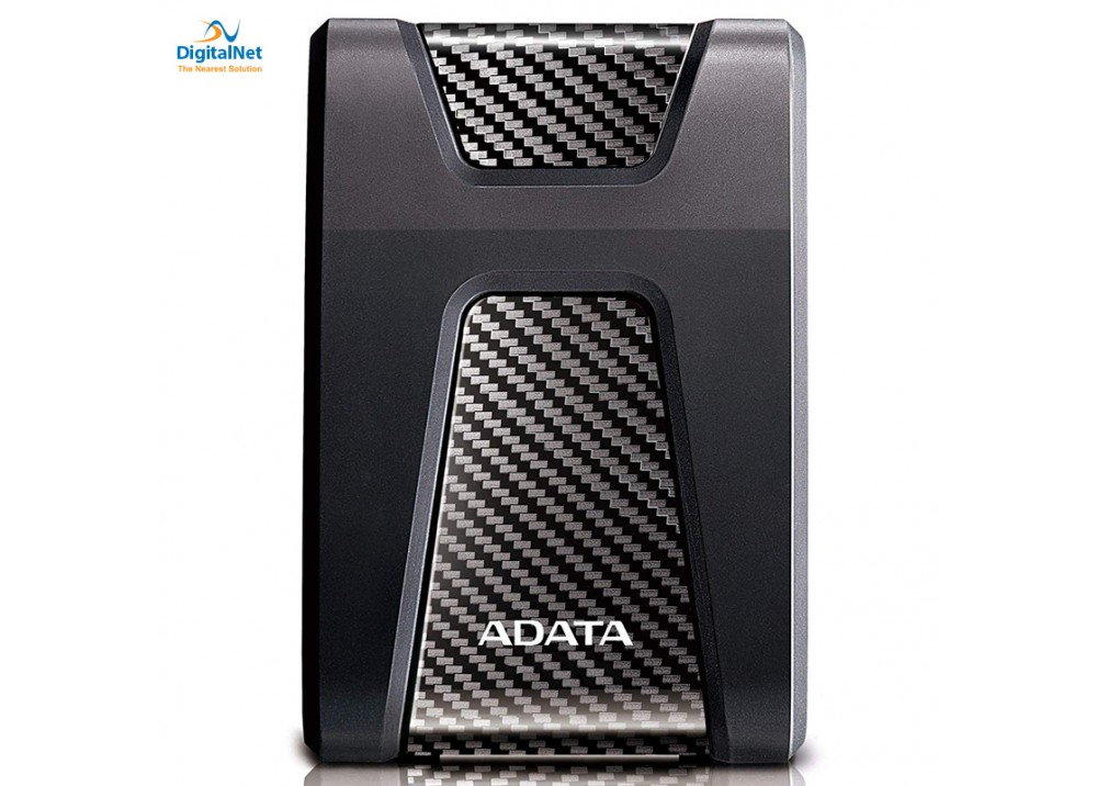 ADATA EXTERNAL HARD DRIVE HD650 USB 3.1 1 TB ANTI-SHOCK BLACK