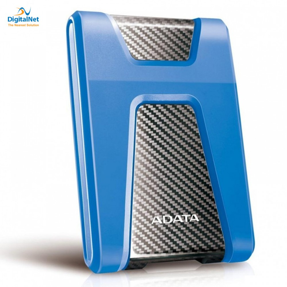 ADATA EXTERNAL HARD DRIVE HD650 USB 3.1 1 TB ANTI-SHOCK BLUE