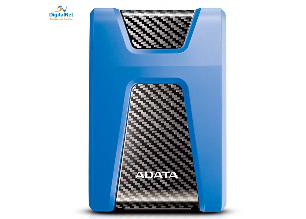 ADATA EXTERNAL HARD DRIVE HD650 USB 3.1 2 TB ANTI-SHOCK BLUE